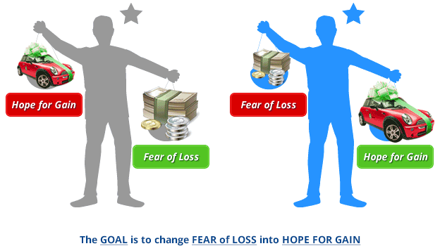 Hope for Gain - Fear of Loss