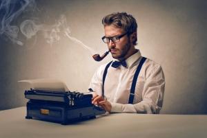 copywriting man