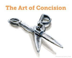 art of concision