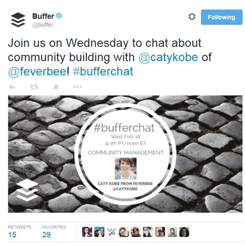 bufferchat by buffer