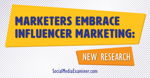 influencer marketing research