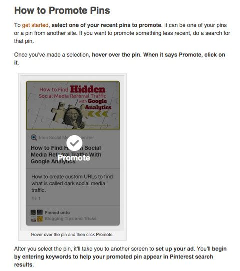 social media examiner pinterest promoted pins article