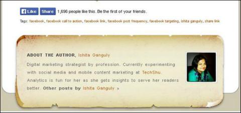twitter url in author bio
