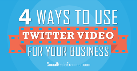 use twitter video