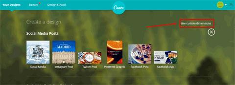 canva linkedin banner template