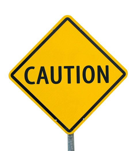 caution shutterstock 126382220
