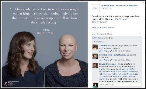 estee lauder breast cancer awareness campaign
