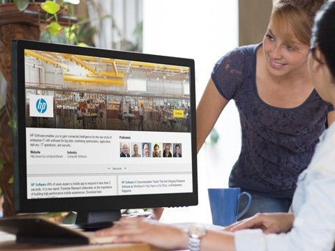 hp showcase page on linkedin placeit image