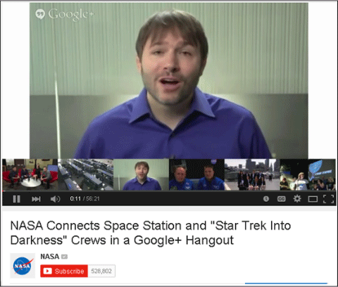 nasa q&a hangout on air