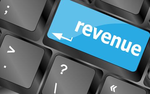 revenue shutterstock button 174484574