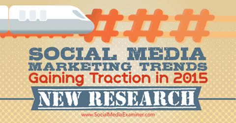 social media marketing trends research
