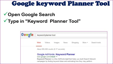 How to Use Google Keyword Planner Tool 3