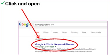 How to Use Google Keyword Planner Tool 4