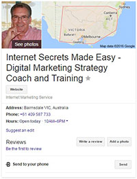 Google Local How to Rank No. 1 in Google Search 1