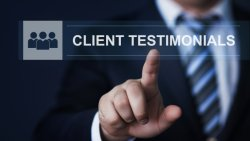 The benefit of testimonials