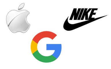 Apple, Nike or Google