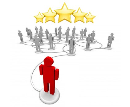 Reviews and referrals make great advertising