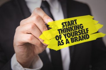 yourself as a brand