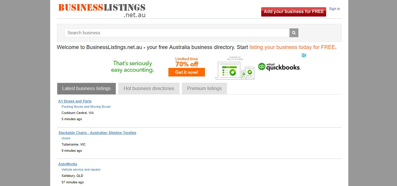 Business Directory listing - ISME