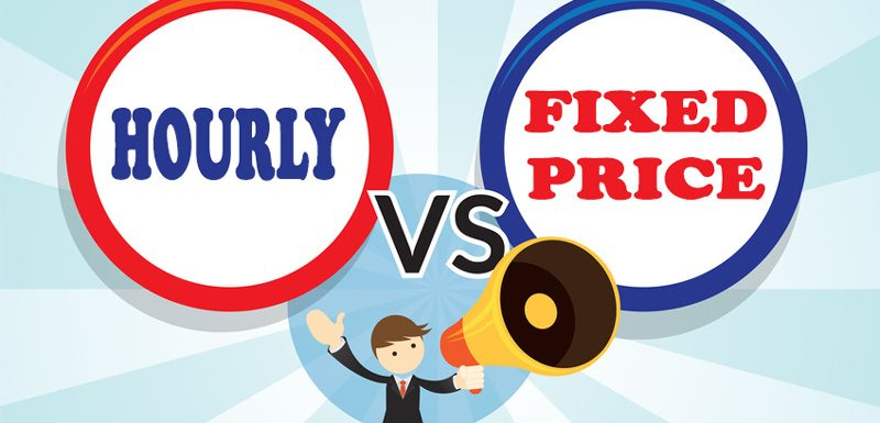 hourly vs fixed price