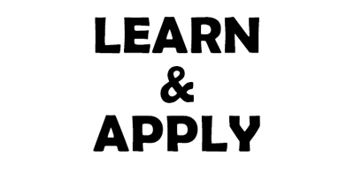 learn and apply